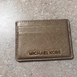 Michael Kors Card Holder. Barely used.